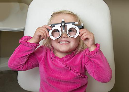 Edwards Eyecare Childrens' Eye Exams